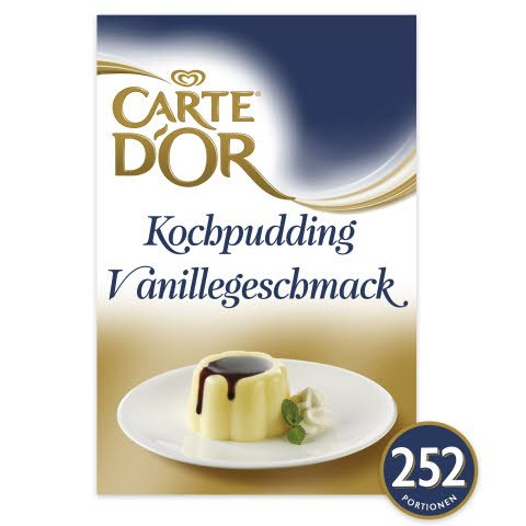 Carte D'or Kochpudding Vanillegeschmack 1,5 KG
