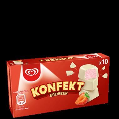 Langnese Konfekt Erdbeer Eis 100 ml -