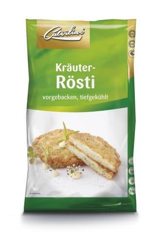 Caterline Kräuter-Rösti 3 KG (60 Stk. à ca. 50 g) -