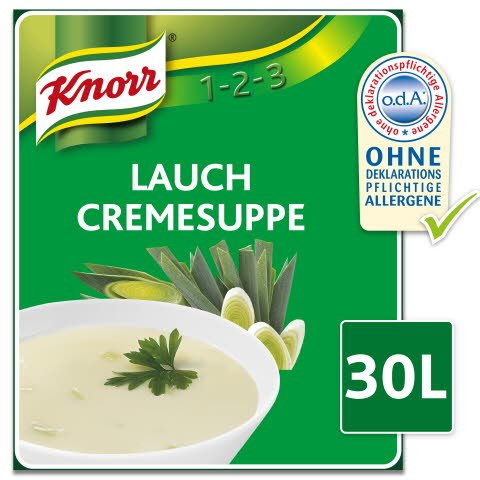 Knorr Lauch Cremesuppe 2,4 KG