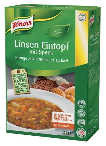 Knorr Linsen Eintopf mit Speck 2,2 KG -