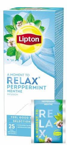 Lipton Pfefferminze Kräutertee 25 Beutel -