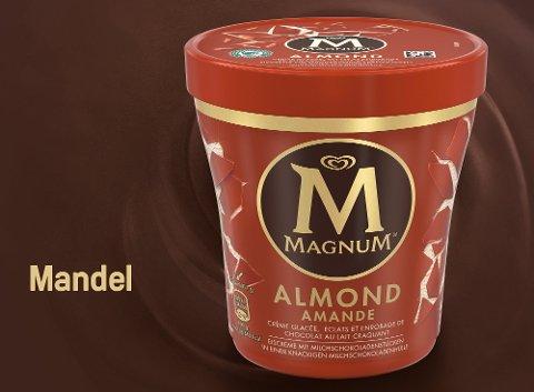 Magnum Mandel Eis Becher 440 ml -