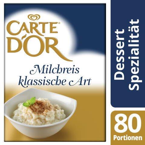 Carte D'or Milchreis klassische Art 1,6 KG -