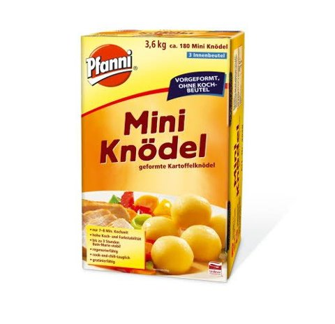 Pfanni Mini Knödel 3,6 KG