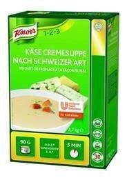 Knorr Käse Cremesuppe nach Schweizer Art  2,7 KG -