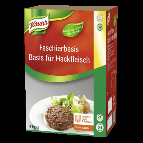 Knorr Faschierbasis / Basis für Hackfleisch -