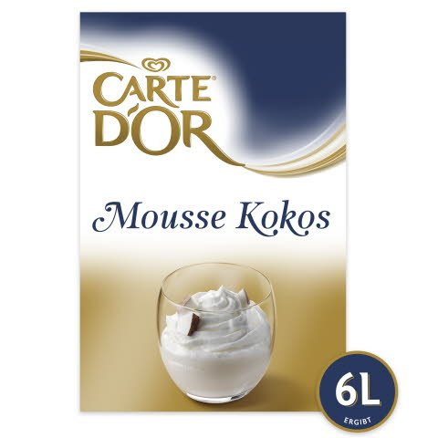 Carte D'or Mousse Kokos 675 g -