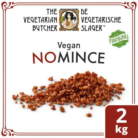 The Vegetarian Butcher No Mince, Veganes Gehacktes auf Soja-Basis 2KG -
