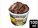 Ben & Jerry's Chocolate Fudge Brownie vegan Kleinpackung 100 ml -