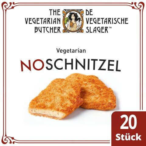 The Vegetarian Butcher - NoSchnitzel - Vegetarisches paniertes Schnitzel auf Pflanzenproteinbasis 1,8 kg -