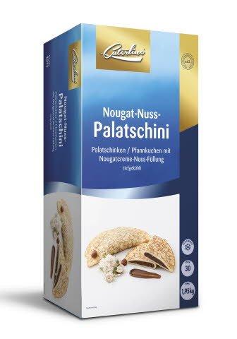 Caterline Nougat-Nuss-Palatschini 1,95 KG (30 Stk. à ca. 65 g) -