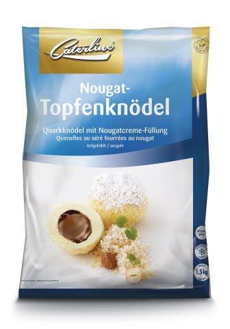 Caterline Nougat-Topfenknödel 1,5 KG (30 Stk. à ca. 50 g)