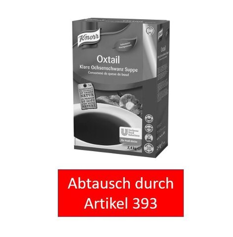 Knorr Oxtail Klare Ochsenschwanz Suppe 2,4 KG -