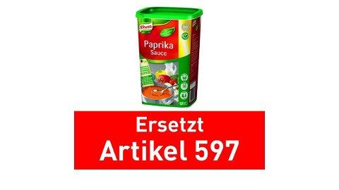 Knorr Paprika Sauce Cremig 1 kg -
