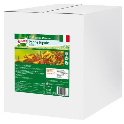 Knorr Pasta Penne Rigate Tricolore 3 KG -