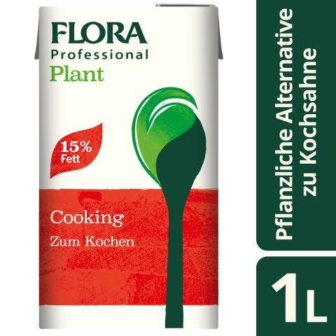 Flora Professional Plant zum Kochen 15% Fett 1l