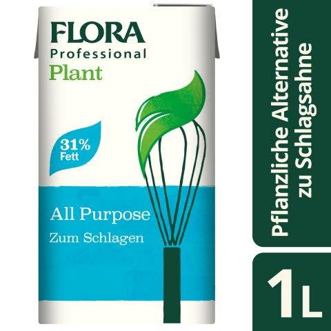 Flora Professional Plant zum Schlagen 31% Fett 1l