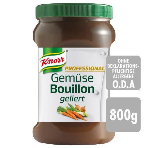 Knorr Professional Gemüse Bouillon geliert 800 g - KNORR Professional Bouillons geliert. So gut wie selbst gemacht.