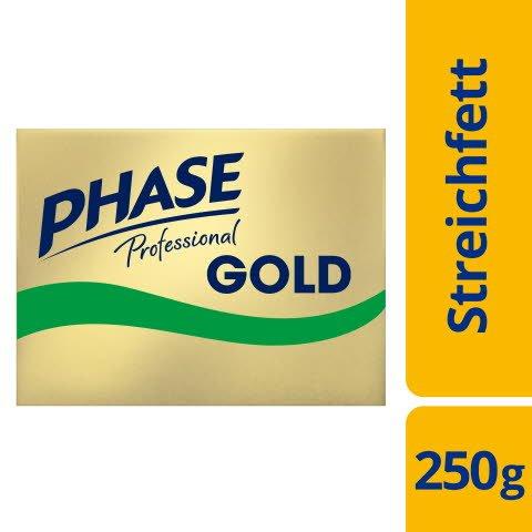 Phase Professional Streichfett Gold 250g 72% Fett - Phase Professional Gold: Anwendung wie Butter - Exzellent im Geschmack