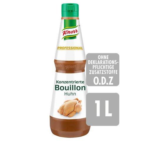 Knorr Professional Konzentrierte Bouillon Huhn 1 L - Abrunden in Perfektion: KNORR PROFESSIONAL Konzentrierte Bouillons und Fonds.