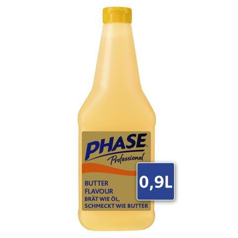 Phase Professional with natural Butter Flavour  900 ml - Hier ist PHASE Professional. Brät wie Öl und schmeckt wie Butter.**