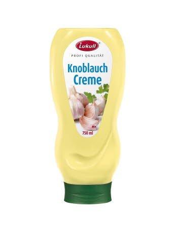 Lukull Profi Knoblauch Creme  750 ml -