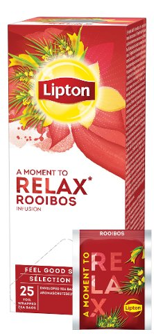 Lipton Rooibos Kräutertee 25 Beutel -