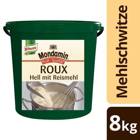 Mondamin Roux helle Mehlschwitze GLUTENFREI 8 KG