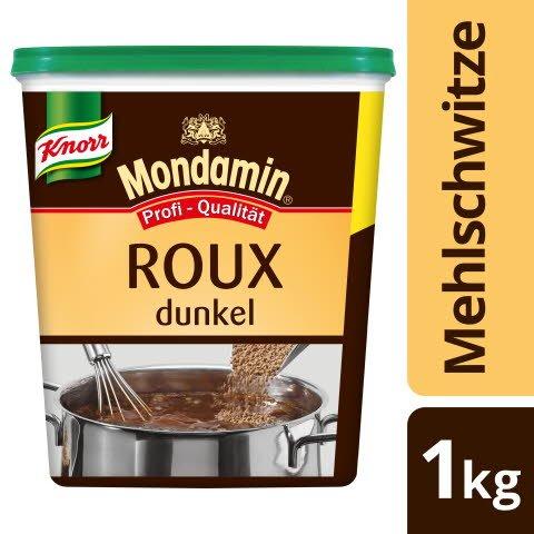 Mondamin Roux Klassische Mehlschwitze dunkel 1 KG - KNORR Roux - authentisch hergestellt, gelingt immer.