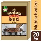 Mondamin Roux Klassische Mehlschwitze dunkel 20 KG