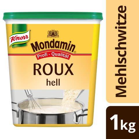Mondamin ROUX Klassische Mehlschwitze hell 1 KG - KNORR Roux - authentisch hergestellt, gelingt immer.
