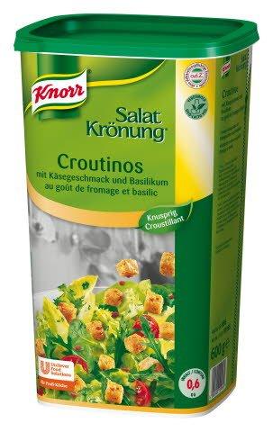 Knorr Salatkrönung Croutinos mit Käsegeschmack und Basilikum 600 g