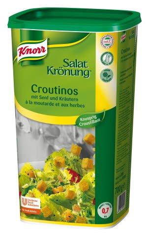 Knorr Salatkrönung Croutinos mit Senf und Kräutern 700 g -
