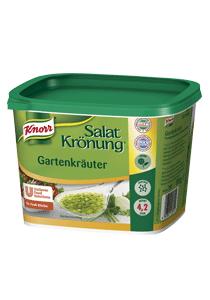 Knorr Salatkrönung Gartenkräuter 500 G - Unsere Basis für selbst gemachte Kräuter-Dressings im Handumdrehen.