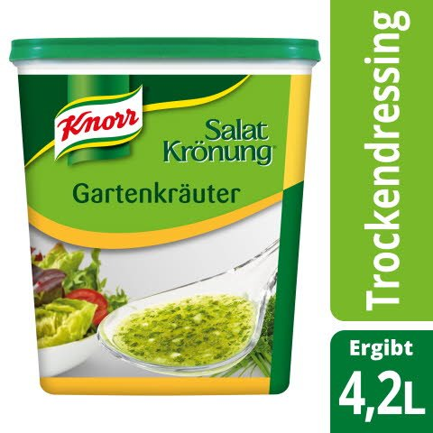 Knorr Salatkrönung Gartenkräuter 500 G