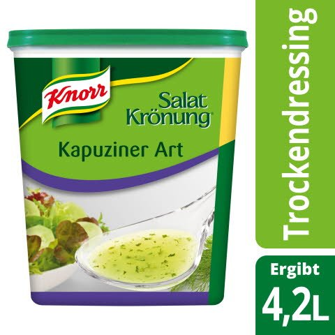 Knorr Salatkrönung Kapuziner Art 500 g -
