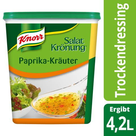 Knorr Salatkrönung Paprika-Kräuter 500 g