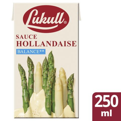 Lukull Sauce Hollandaise Balance 250 ml