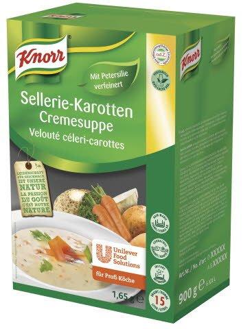 Knorr Sellerie-Karotten Cremesuppe 1,65 KG -