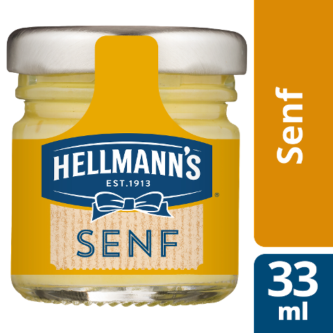 Hellmann's Senf mittelscharf 80x33ml -