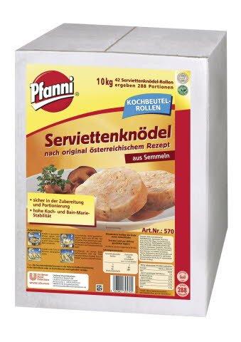 Pfanni Serviettenknödel nach original österreichischem Rezept 10 KG