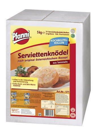 Pfanni Serviettenknödel nach original österreichischem Rezept 5 KG -