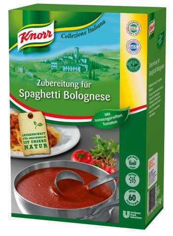 Knorr Spaghetti Bolognese Saucenbasis 1,5 KG -