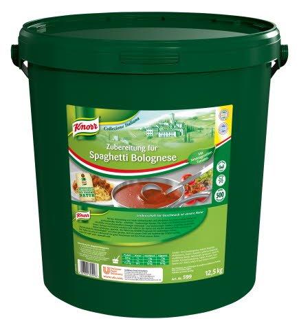 Knorr Spaghetti Bolognese Saucenbasis 12,5 KG