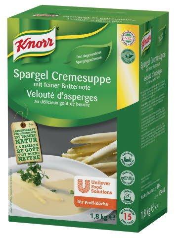 Knorr Spargel Cremesuppe mit feiner Butternote 1,8 KG
