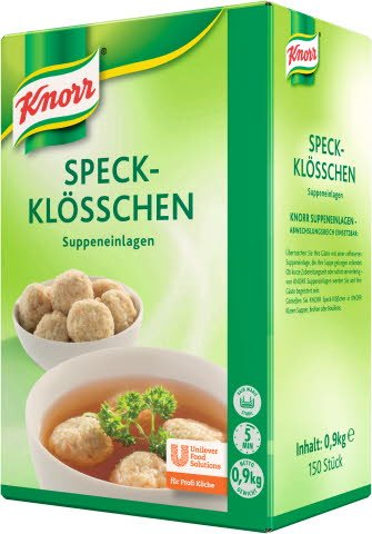 Knorr Speckklösschen 6X900G BOX EB DE