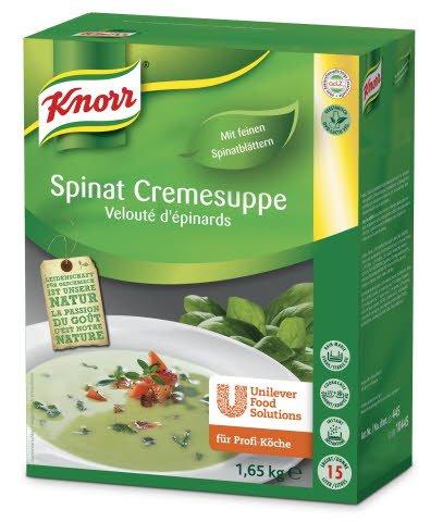 Knorr Spinat Cremesuppe 1,65 KG