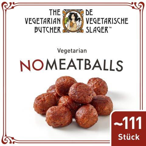 The Vegetarian Butcher - No Meatballs - Vegetarische Hackbällchen auf Pflanzenprotein-Basis 2 kg - The Vegetarian Butcher – die fleischlose Sensation für alle Lieblingsgerichte.