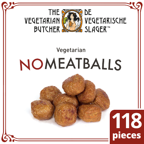 The Vegetarian Butcher - No Meatballs - Vegetarische Hackbällchen auf Soja-Basis 2 kg -